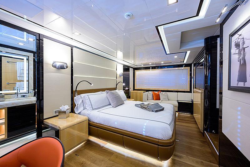 Dopamine yacht stateroom