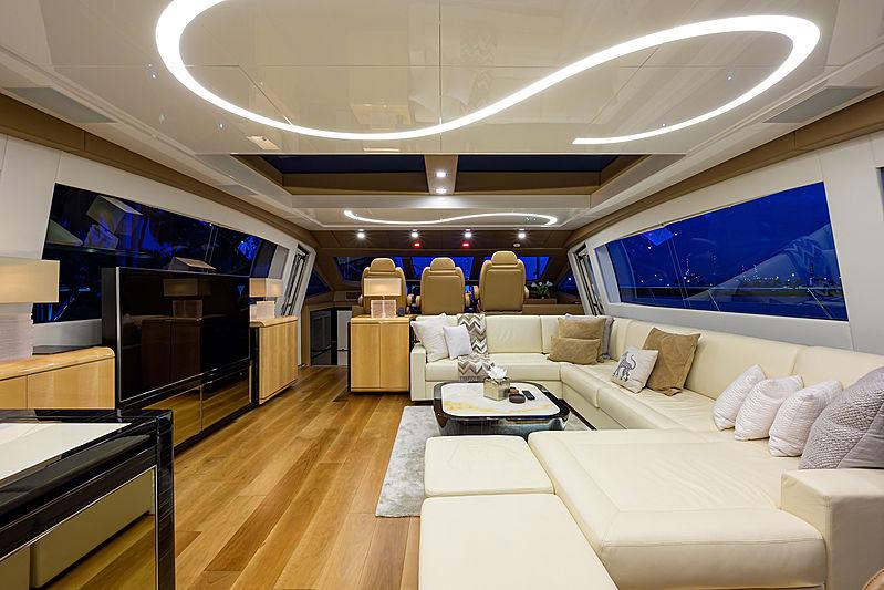 Dopamine yacht saloon