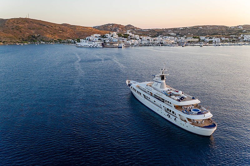 ASTARTE II yacht Blohm & Voss