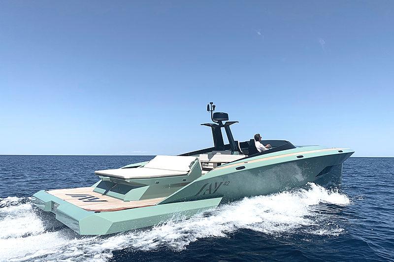 SAY 42 tender SAY Carbon Yachts