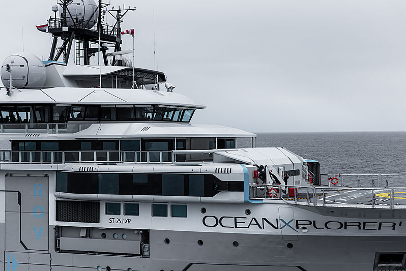 OceanXplorer research vessel on the North Sea
