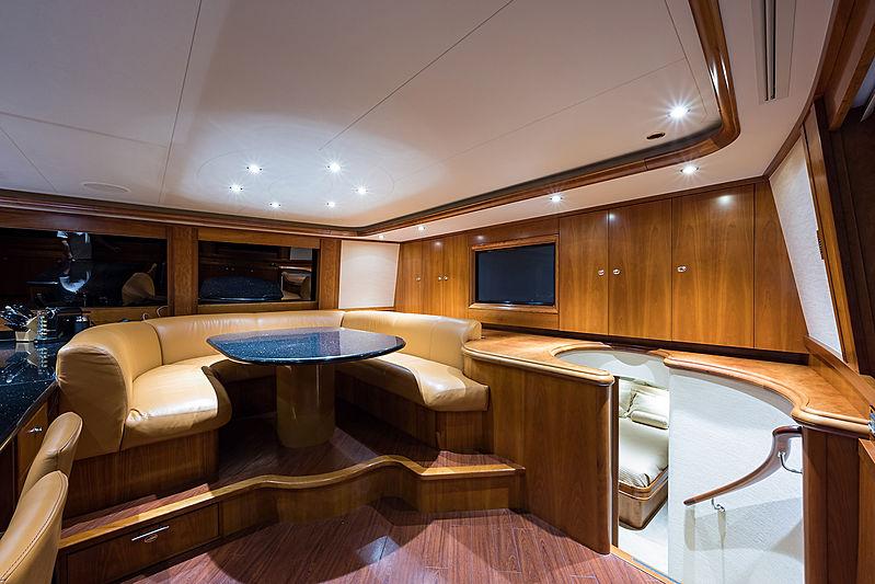 Dreams yacht interior
