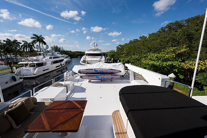 Dreams yacht deck
