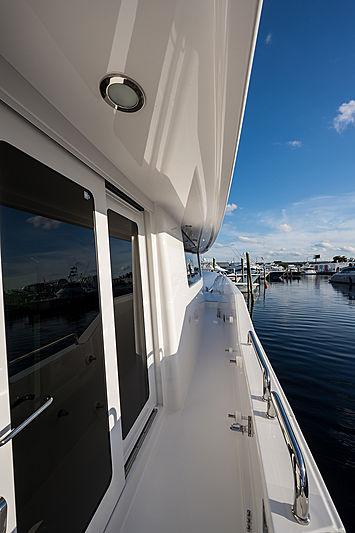 Dreams yacht sidedeck