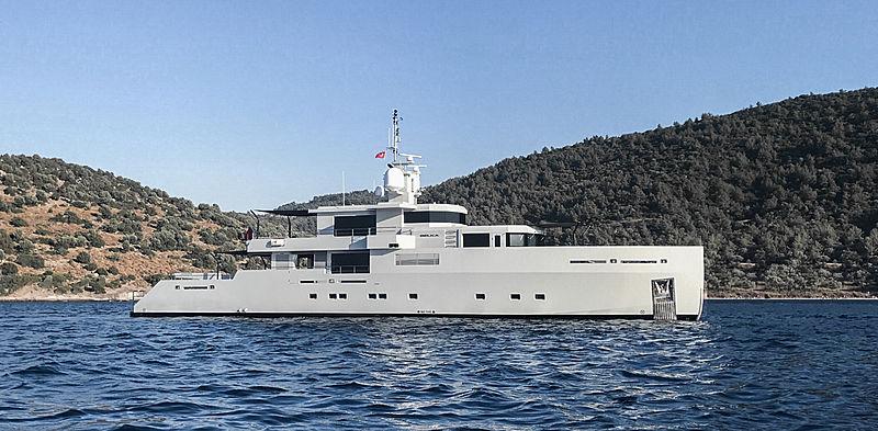 Belka yacht by Tansu Yachts