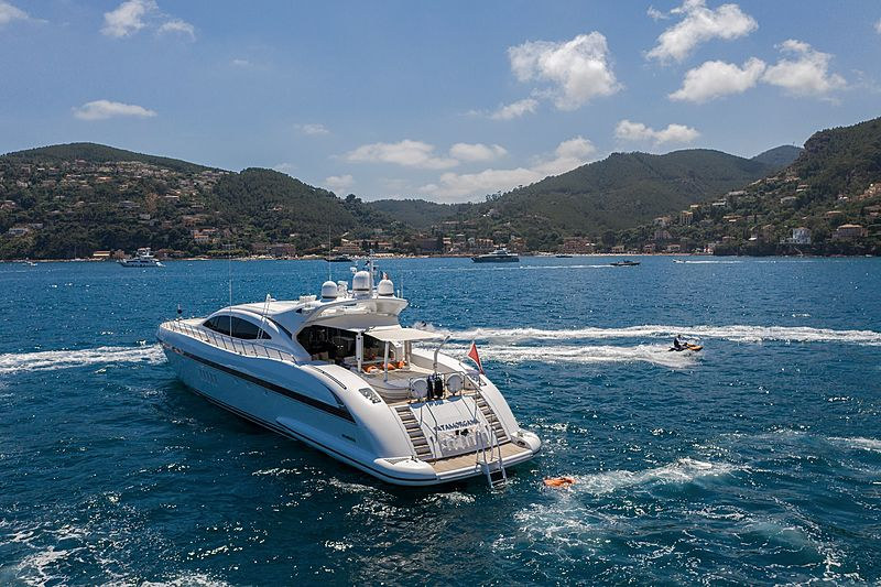 Fatamorgana yacht at anchor