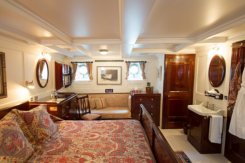 Fair Lady yacht stateroom