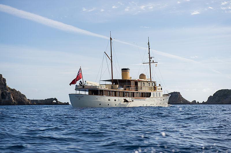 Fair Lady yacht cruising