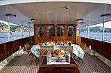 Fair Lady yacht aft main deck