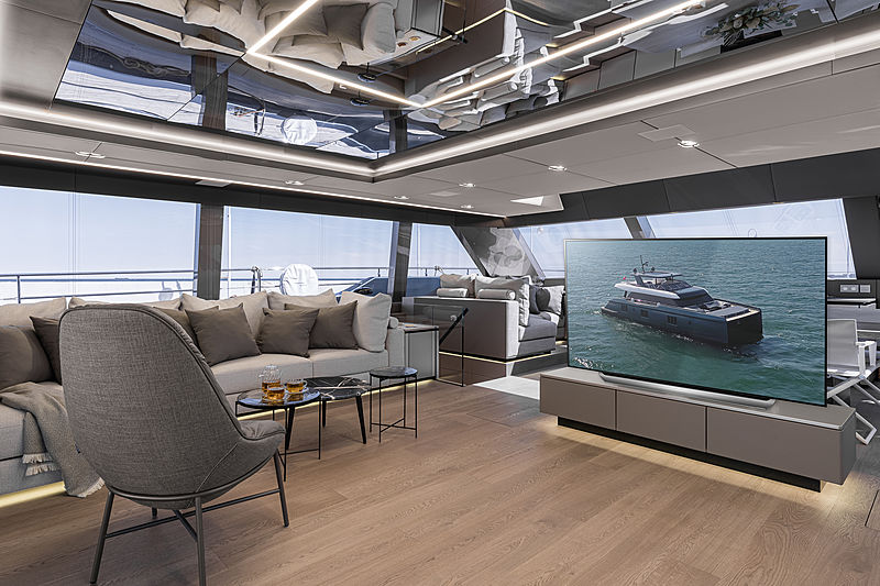 Great White yacht by Sunreef Yachts interior