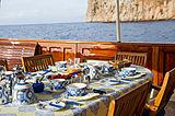 Fair Lady yacht deck