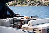 Mazu 82/01 yacht aft deck