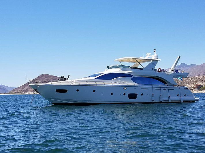 MERCEDES yacht Azimut
