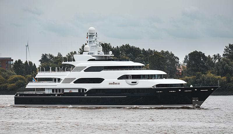 Horizons III yacht by Lürssen in Hamburg, Germany
