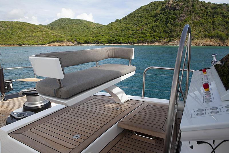 Radiance yacht flybridge