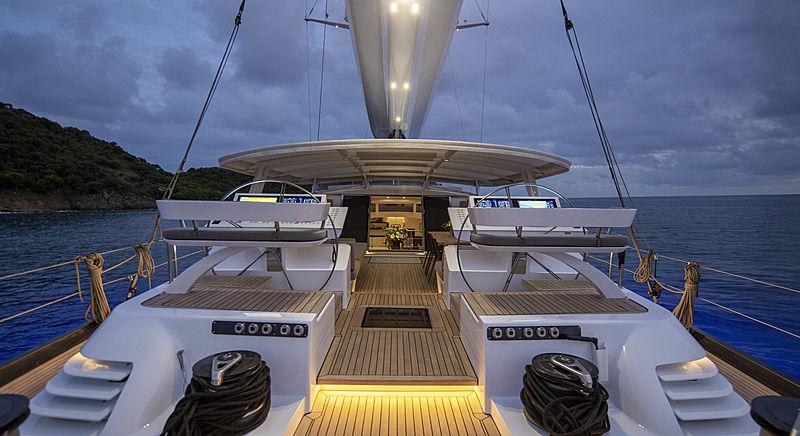 Radiance yacht deck