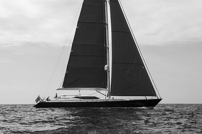 Radiance yacht sailing