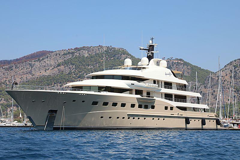 Here Comes the Sun yacht in Gocek