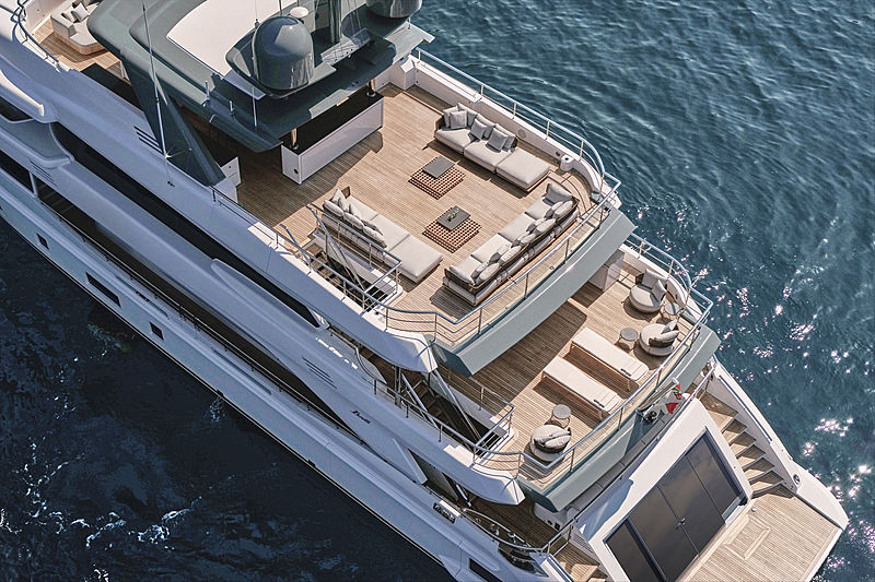 Ink yacht exterior