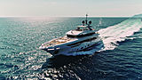 Ink yacht cruising