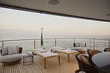 Ink yacht upper aft deck