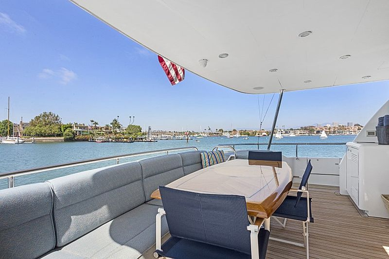 Mindy yacht deck