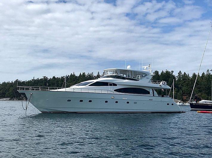 Añejo yacht