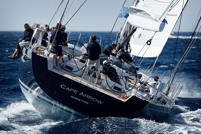 Cape Arrow at the Southern Wind Shipyard Trophy in 2012