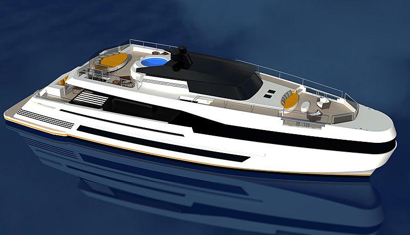 Cristiano Mariani yacht design concept
