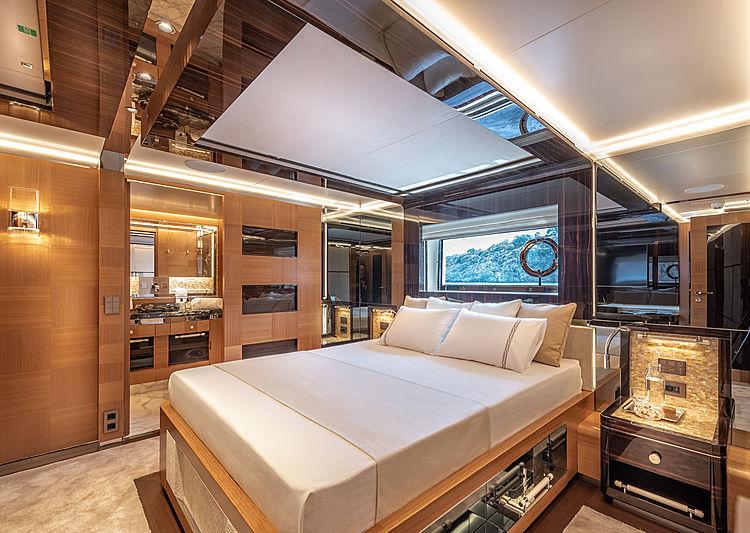 Sunrise yacht interior
