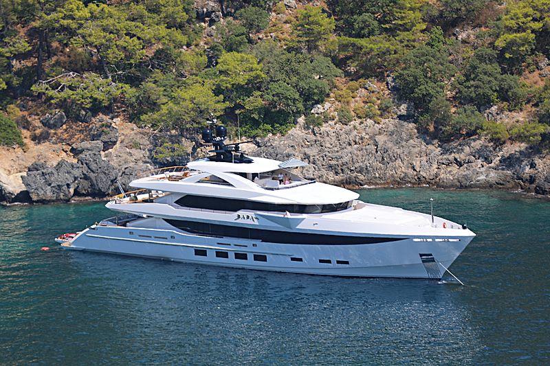 Baba's  yacht in Gocek