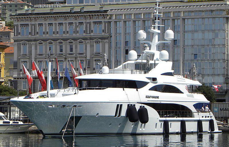 Ocean Paradise yacht in Rijeka Croatia