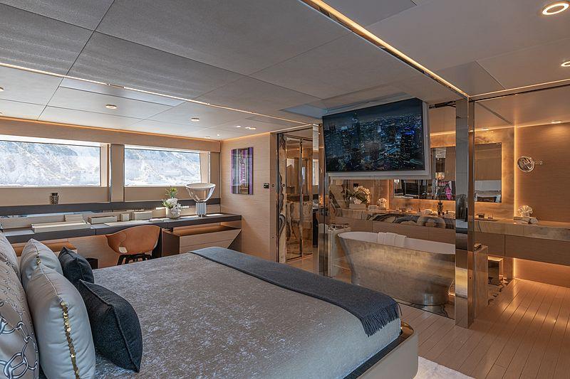 LEL yacht stateroom