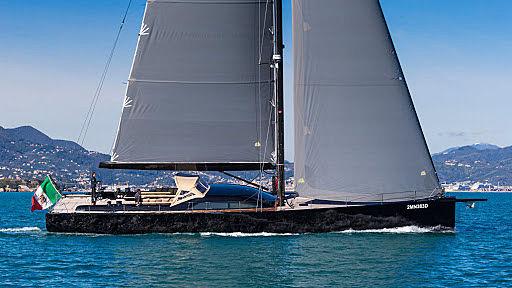 Barong II yacht sailing
