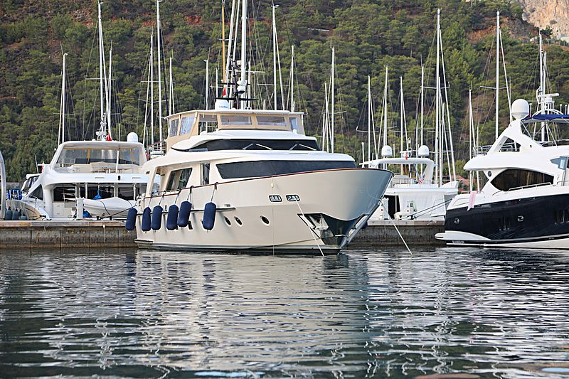 Aquila Q yacht in Gocek
