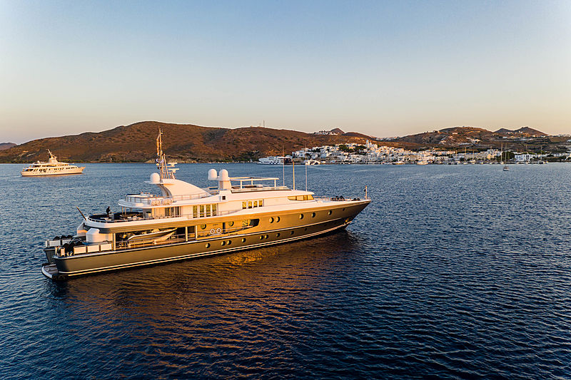 Sagitta yacht in Adámas Greece