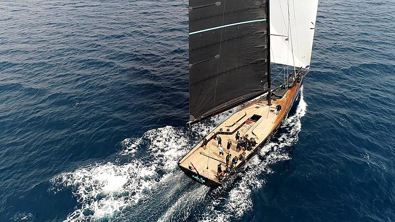 Nahita yacht sailing