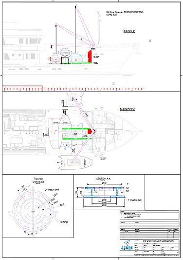 Sandalphon yacht submarine refit plans
