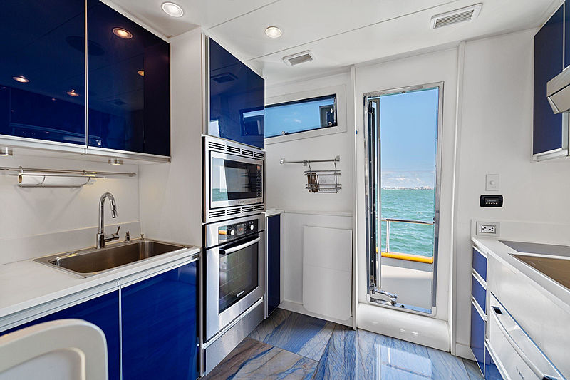 Jerico yacht galley
