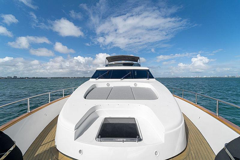 Jerico yacht deck