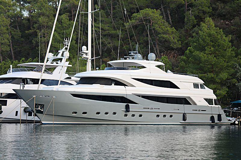 My Steel yacht in Gocek