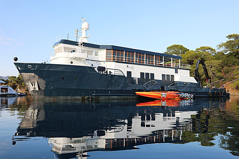 Mystere Shadow yacht in Gocek