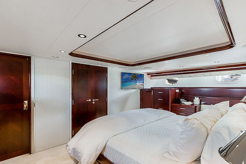 Our Heritage yacht stateroom