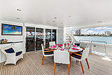 Our Heritage yacht deck