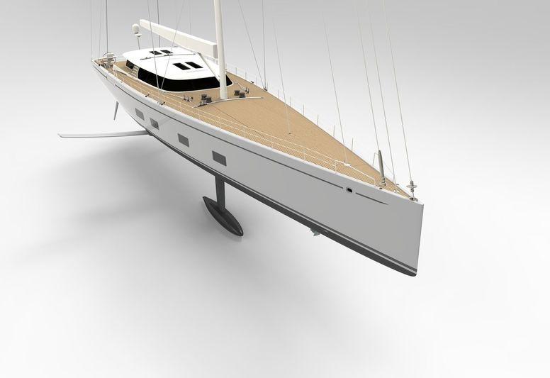 Baltic 142 custom sloop