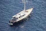 Genevieve anchored off Capri