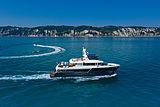Archipelago yacht exterior