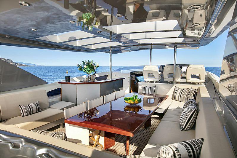 Nyota yacht sundeck