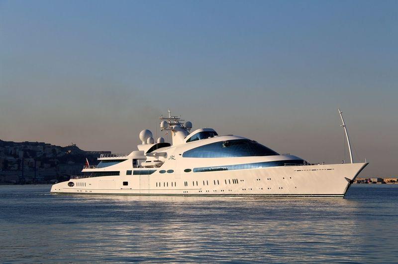 YAS docking in Gibraltar