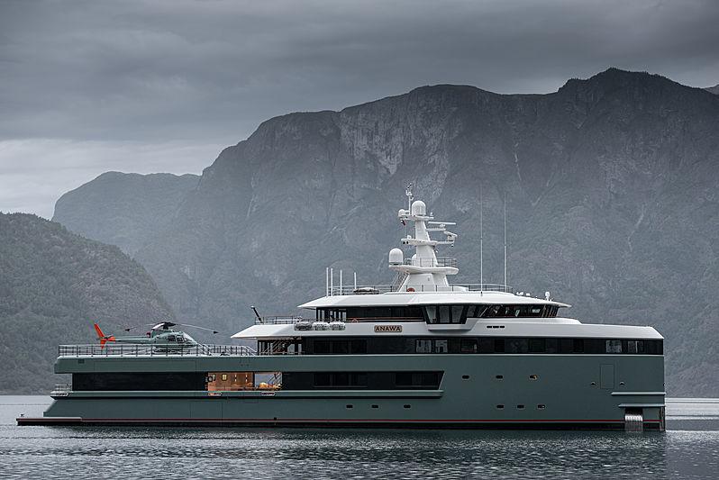 Anawa yacht in Norway